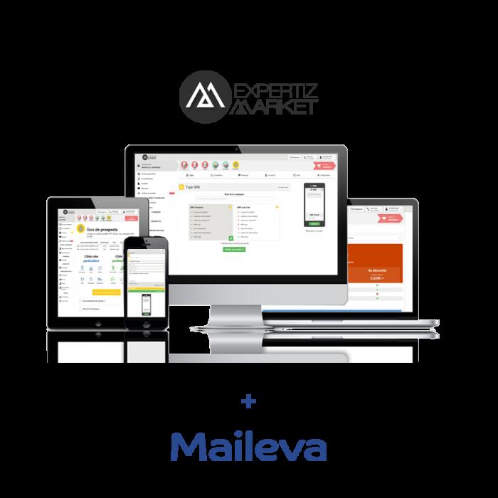 Plateforme multicanal Expertiz Market, Maileva par Datailor